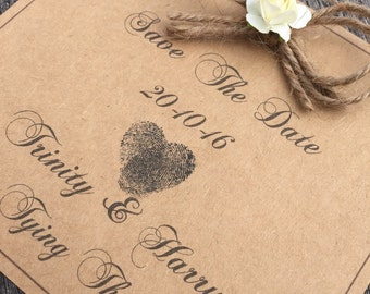 Save the date wedding cards x80