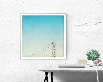 san francisco photography // san francisco art print // bay bridge, photograph art print