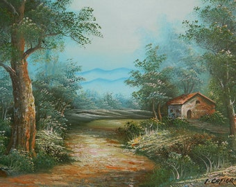 Painting landscape painting