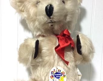Vintage Leray Teddy Bear with Original Tag