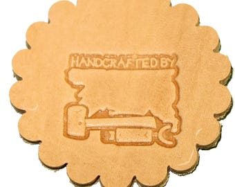 Handcrafted By Leathercraft 3-D Stamp 88400-00