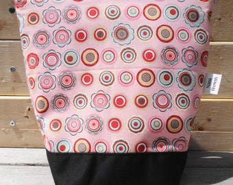 Insulated Lunch Bag - Pink Dot