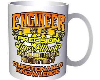 Engineer We Do Precision 11oz Mug aa146