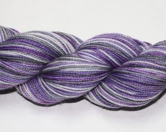Greype Self Striping Hand Dyed Sock Yarn