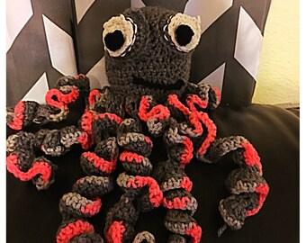 Custom crocheted stuffed animals