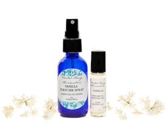 Vanilla Perfume - Essential Oils - Natural Vanilla Perfume - Essential Oil Perfume - Vanilla Perfume Oil - Vanilla Spray - Artisan Perfume