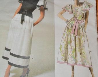 Vintage Vogue American Original pattern, Kasper, Vogue 1690, size 6