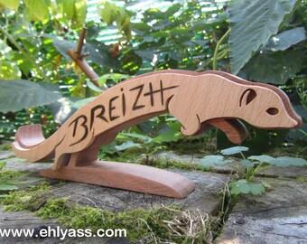 Fretwork ERMINE BRETON sculpture