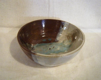Decorative Stoneware Bowl