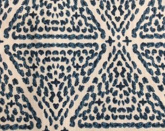 Miguel Azure Blue  Lacefield fabric home decor Mulripurpose