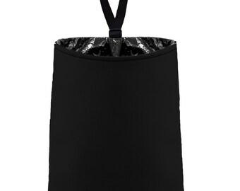 SALE - Car Trash Bag // Auto Trash Bag // Car Accessories // Car Litter Bag // Car Garbage Bag - Black