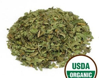 Lemon Verbena Leaf, cut/s organic