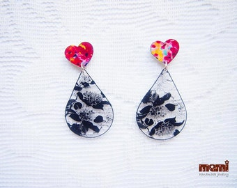 Love inspiration earrings