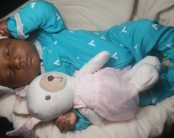 Made to order , African American  reborn doll, black baby doll, lifelike AA reborn, realistic AA BABY  doll