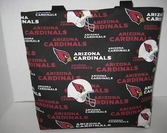 Arizona Cardinals Football Team Medium Size Tote