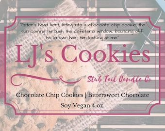 LJ's Cookies - Scented Soy Candle Inspired by To All the Boys I've Loved Before