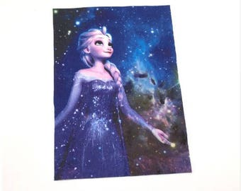 Fabric ELSA snow Queen