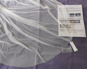 Make your own Pure Silk Veil. We provide the Kit with Full Instructions and you save a fortune