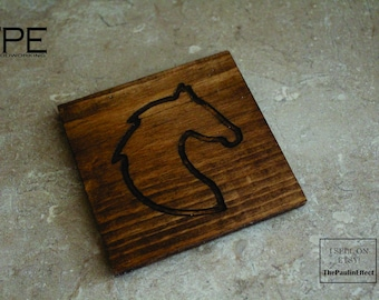 Horse Coasters. Equestrian Coasters. Drink Coasters. Horse Head Coasters. Wedding Gift. First Home Gift. Gift for Him. Gift for Her.