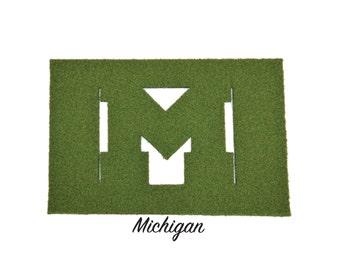 Michigan Synthetic Grass Doormat | Rug | Wall Decor