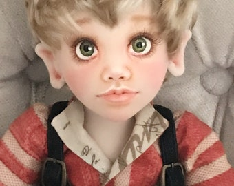 PamicDolls Collection - 40cm face painted cloth doll