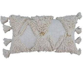 Moroccan Shaggy Cushion Cover | 55 x 55cm