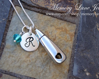 Forever In My Heart - Urn Necklace Jewelry - Cremation Necklace Jewelry - Cremains - Ashes Necklace Jewelry - Memorial Jewelry