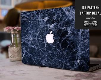 Ice Texture Macbook Sticker / Stickers Macbook Pro / Macbook Decal / Laptop Sticker / Laptop Decal / Macbook Air Sticker / TXD016