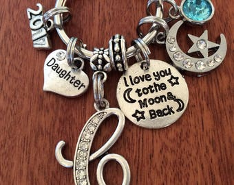 DAUGHTER Gifts From Mom, Daughter Gift, Mother Daughter Gift, Daughter Keychain, Father Daughter Gift, Step Daughter Gift, Daughter-In-Law