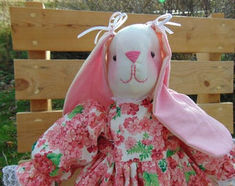 Lilac the Stuffed Bunny Rabbit Doll