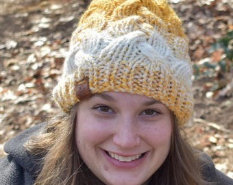 Crossy Braided Cable Hat