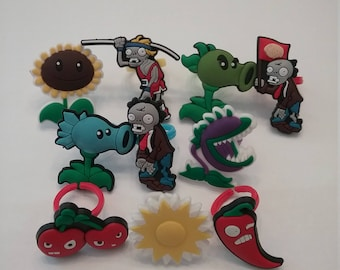 Plants vs. Zombies Rings Party Favor Cupcake Toppers