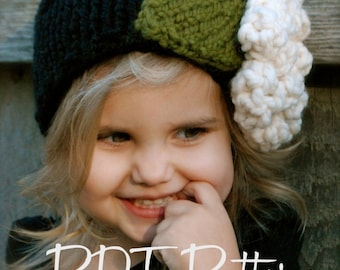 Knitting PATTERN-The Rowynn Warmer (Toddler, Child, and Adult sizes)