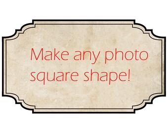 Square photo print, 10x10 photo print,custom size print, wall art, nature photography, baby room decor, home wall decor,