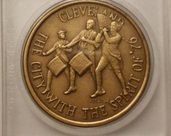 1971 175th Anniversary Cleveland Ohio Spirit Of '76 Commemorative Medal