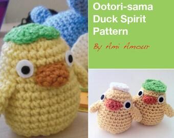 Duck Spirit Ootori-sama crochet pattern Spirited Away PDF
