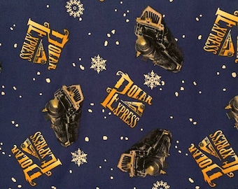 Polar Express Cotton Fabric by the Yard