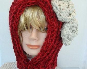 WOMEN'S HOOD HAT, Patterns crochet hat -  For Women and Children, hood, num. 500, Instant Download Pattern