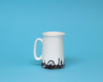 London Skyline Jug, Half Pint