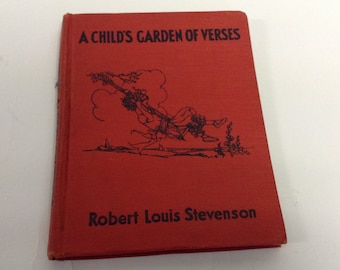 1940's Vintage Child's Book Robert Louis Stevenson