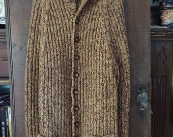 Handknit Sweater Coat
