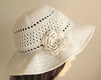 NEW!  Easter & Summer Hats -- Hand Crochet -- Custom