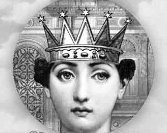 Queen Cavalieri plate