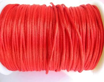 3 m cord nylon Red 1.5 mm