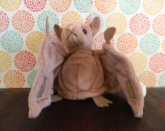 "TY Brown Bat Beanie Baby ""Batty"" (B)"