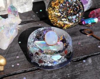 Orgonite® - Jewelry Box - Engagement - Handmade - Orgone Generator® - Ring Box - Crystals - Gift - EMF Protection - HoodXHippie