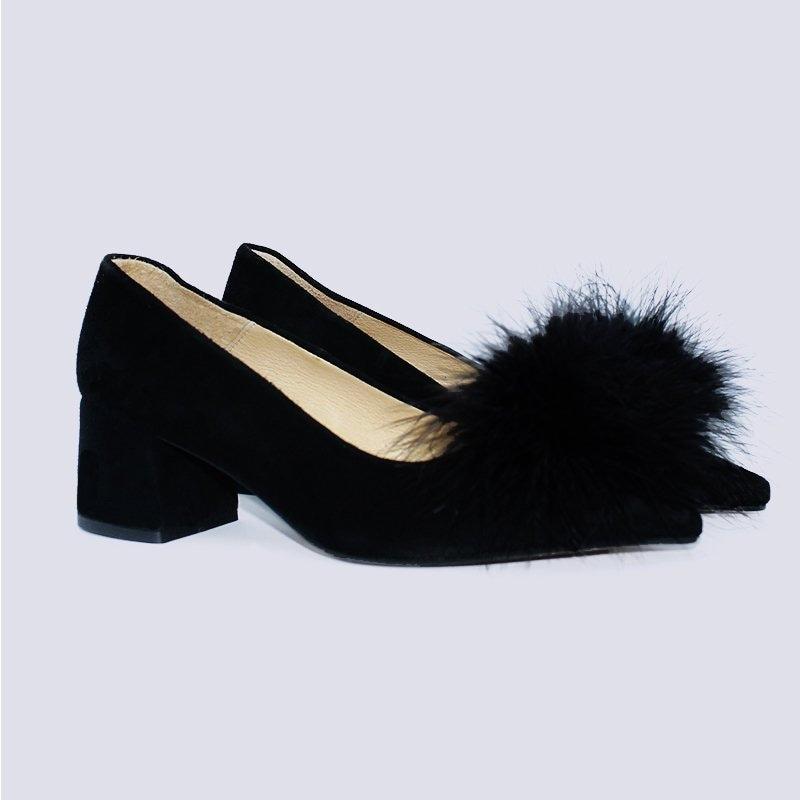 Femmes noir chaussures, chaussures chaussures pompon noir, femmes chaussures chaussures, à talons bas, femmes chaussures de mariage, fête et événeHommes ts des chaussures, chaussures à la main Espagne f650c7