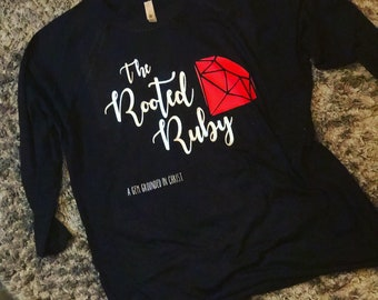 The Rooted Ruby T-shirt Proverbs 31:10