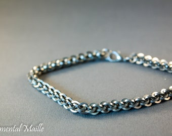 Stainless Steel JPL Chainmaille Bracelet