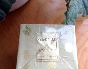 Vintage unopened box Quadrille Balenciaga perfume